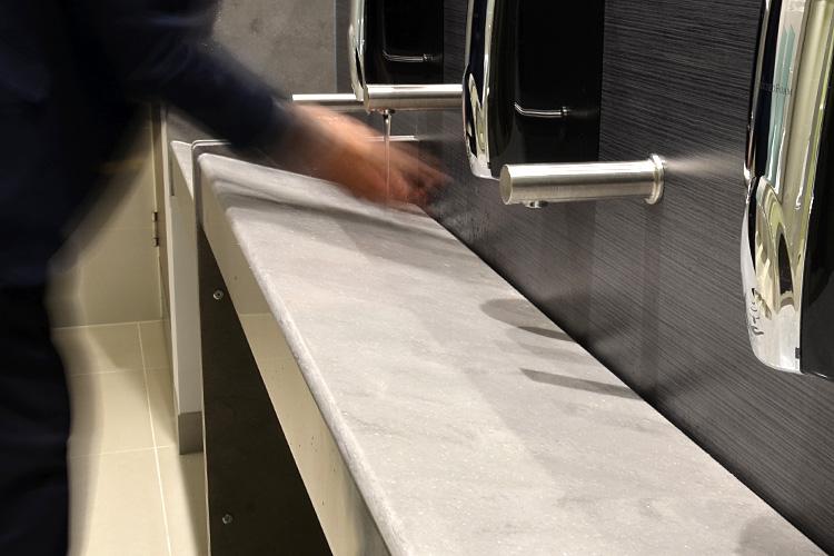 Grant Westfield continuous vanity basin